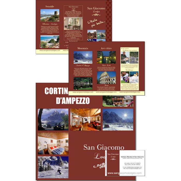 Grafica coordinata San Giacomo Lodge