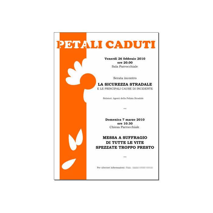 Locandina Petali caduti