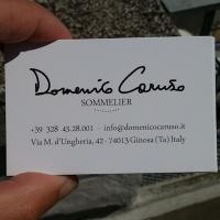 Biglietti da visita Domenico Caruso