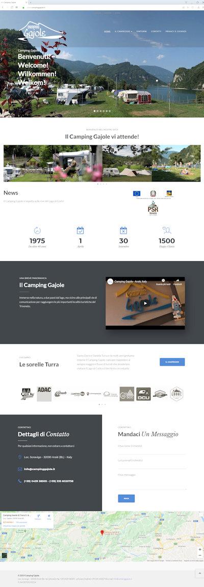 Camping Gajole - Il nuovo sito