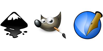 I tre moschettieri della grafica open source: Inkscape, Gimp e Scribus