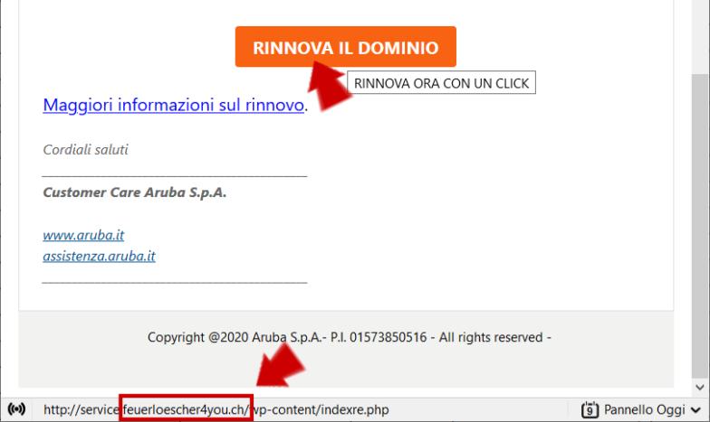 Phishing: come riconoscere una mail falsa da desktop o laptop