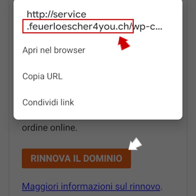 Phishing: riconoscere una mail falsa da smartphone